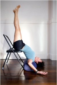 Yoga props chair
