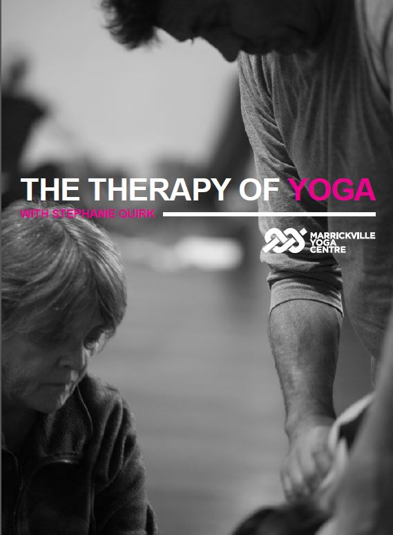 Yoga Therapy at Marrickville Yoga Centre